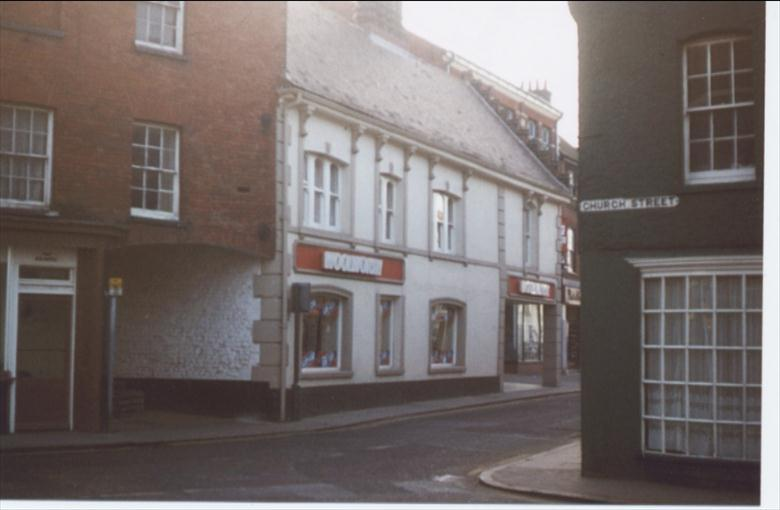 Photograph. Woolworths, formerly the Cross Keys public house. (North Walsham Archive).