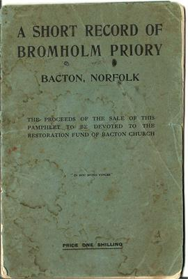Bromholm Priory booklet - 1911
