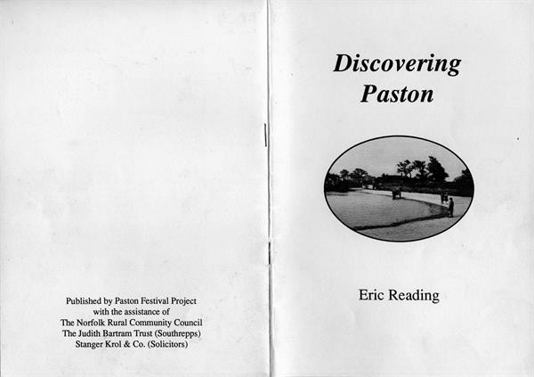 Discovering Paston cover